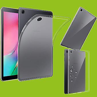 Voor Samsung Galaxy tab A 10,1 2019 T510 T515 transparante Case zaak TPU silicone dun