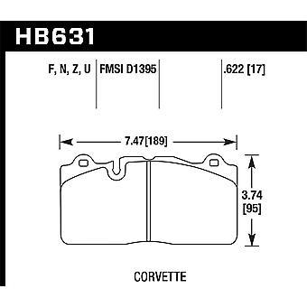Hawk performance HB631Z. 622 PC