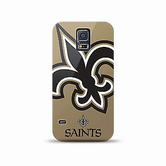 5 Pack -Mizco Sports NFL Oversized Snapback TPU Case for Samsung Galaxy S5 (New Orleans Saints)