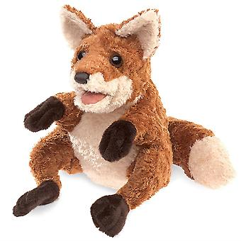 Hand Puppet - Folkmanis - Crafty Fox New Toys Soft Doll Plush 30818
