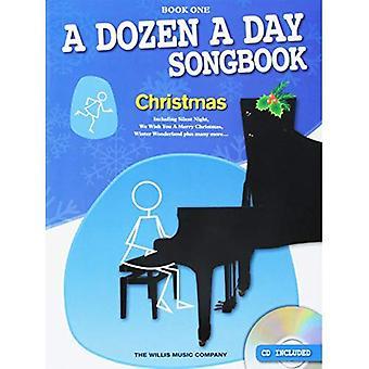 Une douzaine un Songbook de jour: Noël - Book One (livre/CD)