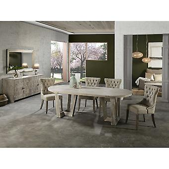 Schuller Morgan Dining Table,220 Grey