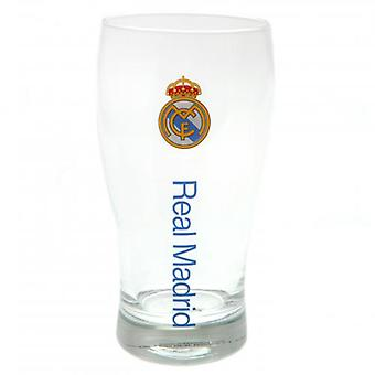 Real Madrid Tulip Pint Glass