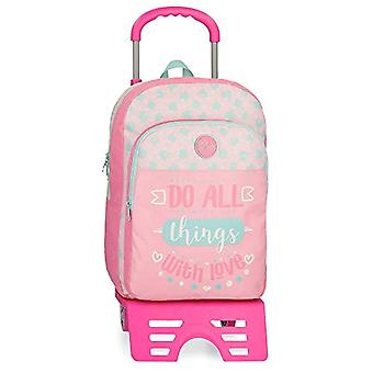 Roll Road Do All Backpack 40 centimeters 15.6 Pink