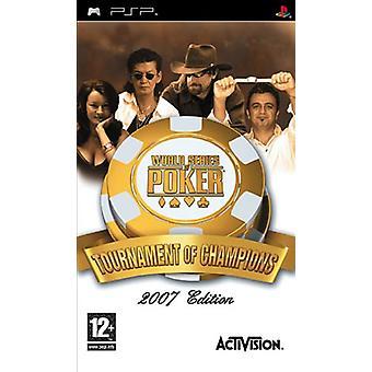 World Series of Poker Tournament Champions (PSP)-nytt