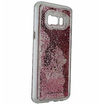 Case-Mate Naked Tough Waterfall Case Cover Galaxy S8 Plus - Rose Pearl Glitter