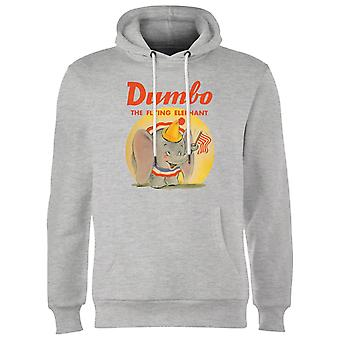 Dumbo Flying Sudadera con capucha - Gris