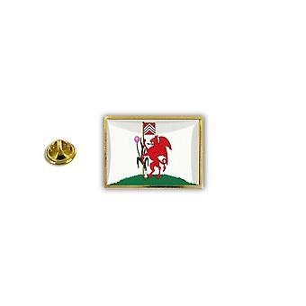 Pins Pin Badge Pin's Metal Broche Drapeau Anglais Royaume Uni Cardiff