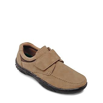 Chums Mens Touch Fasten Shoe with Gel Pad