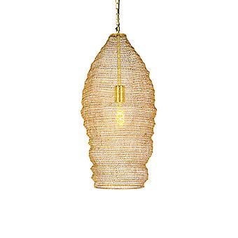 QAZQA Oriental Hängeleuchte 25cm Gold - Nidum