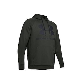 Under Armour Rival Fleece Sportstyle Logo Hoodie 1345628-310 Mens sweatshirt