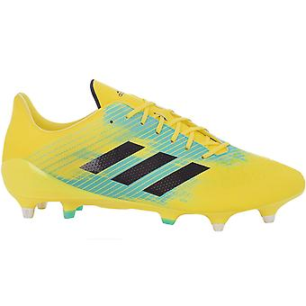 adidas Performance Mens Predator Malice Control SG Rugby Shoe Boots - Yellow