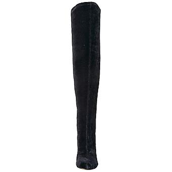 The Fix Women's Sophia Embellished Block Heel Over The Knee Boot
