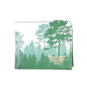 The Legend of Zelda Forrest Bi-Fold Wallet Coin Pouch (MW067763ZEL)
