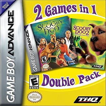 Scooby Doo dual Pack GBA spillet (GameBoy Advance)