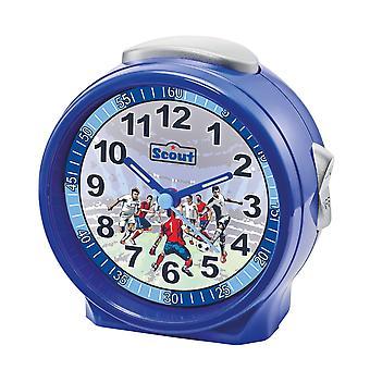 Scout unga larm larm vänner blå fotboll 280001072