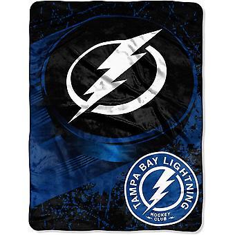 Northwest NHL Tampa Bay Lightnings Micro Plush Blanket 150x115