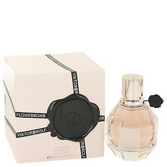 Flowerbomb eau de parfum spray by viktor & rolf 431115 50 ml