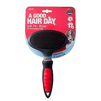 Interpet Limited Soft Pin Slicker Dog Brush