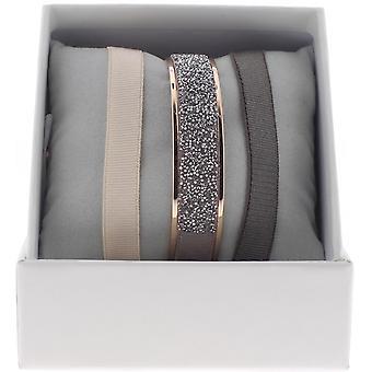 Bracelet interchangeable A47066 - box ring Ribbon Crystal woman Rose Gold Bracelet