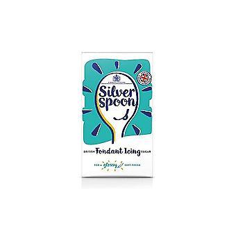 Zilveren lepel 500g fondant suikerglazuur