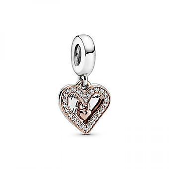 Bracelet Pandora 788693C01 - Charm pendant esquisse de c?ur