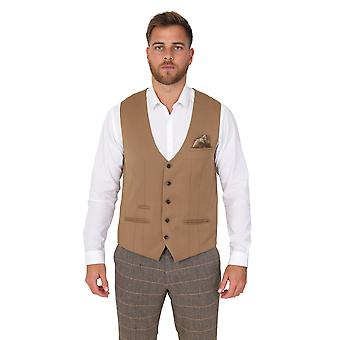 Marc Darcy Kelly Tan Effen Vest