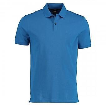 Hugo Boss Pallas Pique Polo Bright Blue 426 50425985