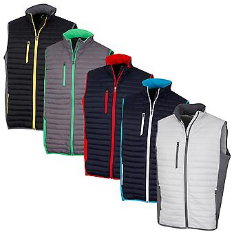 Sunderland Mens Vermont Padded Windproof Ultra-Lightweight Golf Gilet