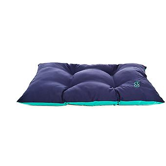 Ferribiella Two-Tone Pillow 50X35Cm Blue-Green (Cats , Bedding , Beds)
