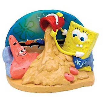 Sandimas SpongeBob And Patrick (16.5Cm) (Fish , Decoration , Ornaments)