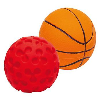 Gloria Pets Balls Latex Toys Sport boat 18Unds (Dogs , Toys & Sport , In latex)