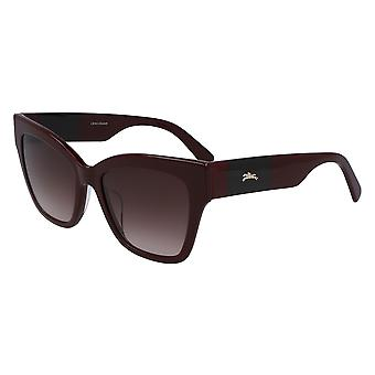 Longchamp LO650S 604 Burgundy/Red Gradient Sunglasses