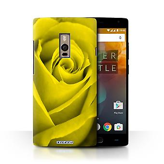STUFF4 Case/Cover for OnePlus 2/Two/Yellow/Rose