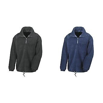 Result Mens Polartherm® Lined 1/4 Zip Fleece Top
