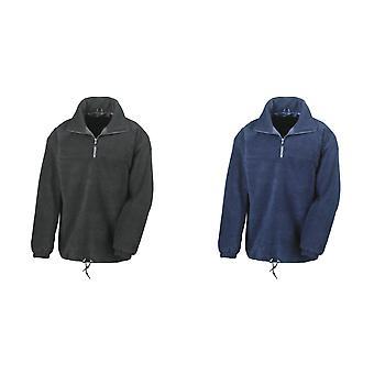 Tulos Mens Polartherm® vuorattu 1/4 Zip Fleece-yläosa