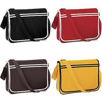 Bagbase Retro Adjustable Messenger Bag (12 Litres)