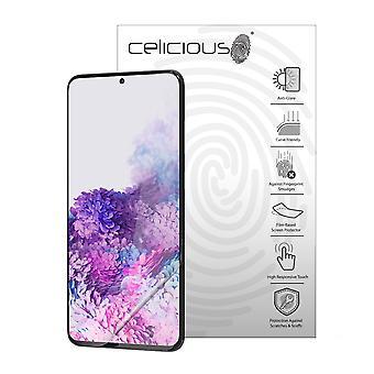 Celicious Ματ Flex Αντι-Glare 3D οθόνη προστατευτική ταινία συμβατό με το Samsung Galaxy S20 Plus 5G [Πακέτο των 3]