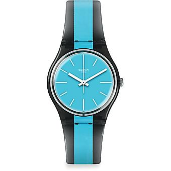 Swatch Quartz digital klocka man med plast strapping Eu