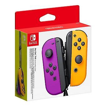 Wireless gamepad Nintendo joy-con portocaliu violet