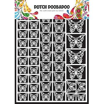 Dutch Doobadoo Dutch Paper Art butterflies - A5 472.948.007