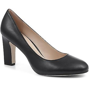 Jones Bootmaker Evangeline Leather Court Shoes