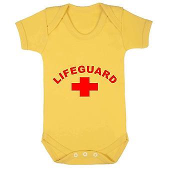 Reality glitch lifeguard kids babygrow