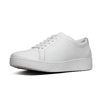 FitFlop Rally™ Leather Sneakers In Urban White