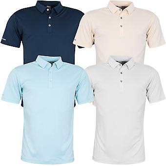 Ping Collection Mens 2020 Preston Short Sleeve Wicking Golf Polo Shirt