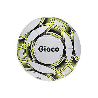 Gioco Kinder Training Fußball Ball Weiß/Gelb/Schwarz