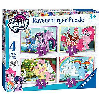 Ravensburger My Little Pony, 4 in a box (12, 16, 20, 24pc) Jigsaw Puzzles