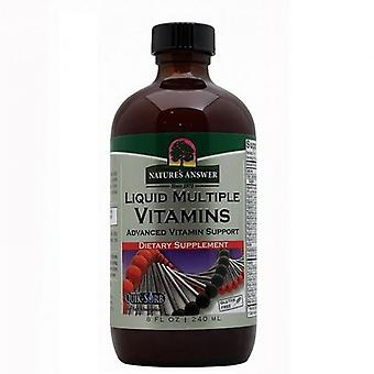 Nature's Answer Multiple Vitamins 240ml 1475
