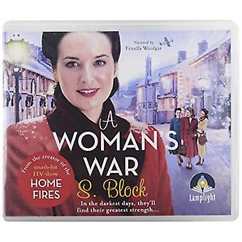 A Womans War by S Block & Read by Samantha Bond