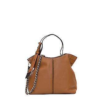 Michael Por Michael Kors 30s0gw2l9y299 Mujeres's Brown Leather Tote